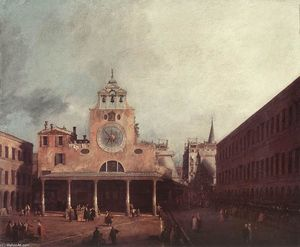 Giovanni Antonio Canal (Canaletto) - Сан - Джакомо ди Риальто