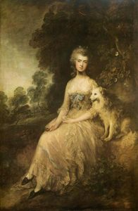 Thomas Gainsborough - Г-жа . Мария Робинсон ( --Perdita-- )