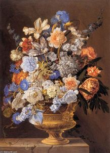 Jacques Ii Bailly - букет `flowers`