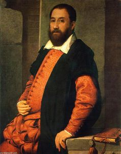 Giovanni Battista Moroni - Портрет Якопо Фоскарини