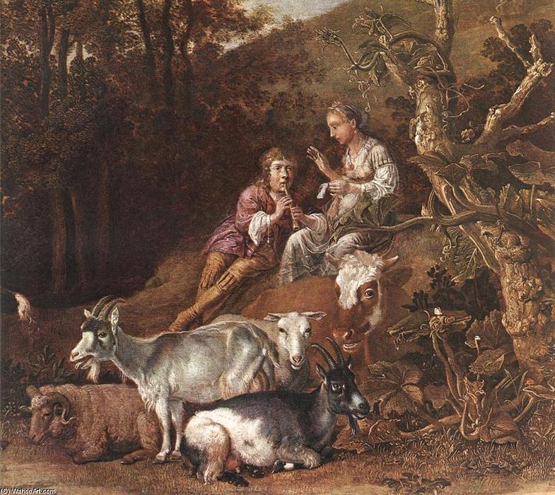 http://ru.wahooart.com/Art.nsf/O/8Y3FQ8/$File/Paulus-Potter-Landscape-with-Shepherdess-and-Shepherd-Playing-Flute-detail-2-.JPG