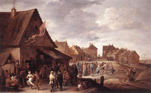 David The Younger Teniers - аул праздник