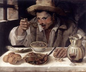 Annibale Carracci - Beaneater