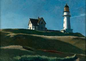Edward Hopper - Маяк горке