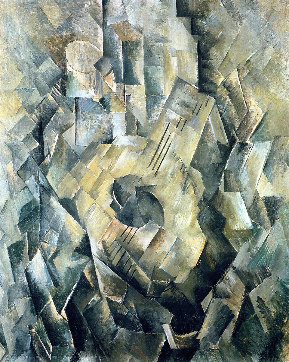 Mandola, 1910 по Georges Braque (1882-1963, France) |  | WahooArt.com
