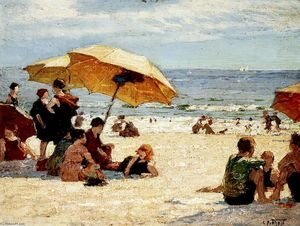 Edward Henry Potthast - Манхэттен-Бич