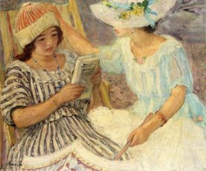 Henri Lebasque - Марта и Ноно