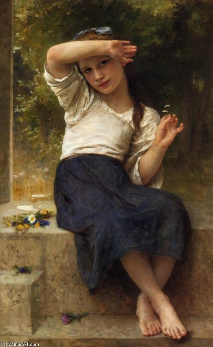 Маргаритка, 1903 по William Adolphe Bouguereau (1825-1905, France) | Картина Копия | WahooArt.com