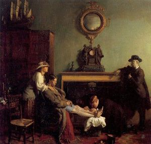 William Newenham Montague Orpen - Простое Перелом