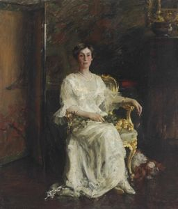 William Merritt Chase - Г-жа Джонсон Элдридж Ривс