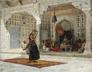 Edwin Lord Weeks - Nautch