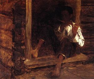 Jonathan Eastman Johnson - Негр Мальчик