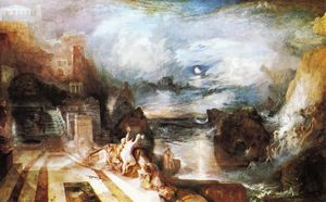 William Turner - Прощание Геро и Леандр - от греков Musaeus