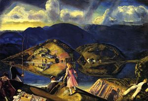 George Wesley Bellows - Пикник