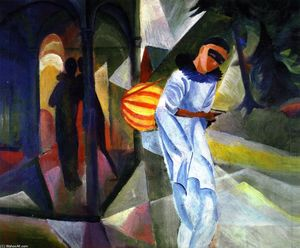 August Macke - Пьеро