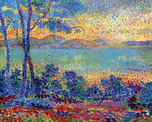 Henri Edmond Cross - Прованс пейзаж