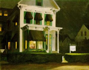Edward Hopper - Номера для Туристы
