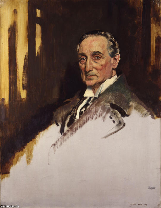 Руфус Айзекс, 1 маркиз чтения по William Newenham Montague Orpen (1878-1931, Ireland)