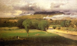 George Inness - Сакко Ford: Conway Луга