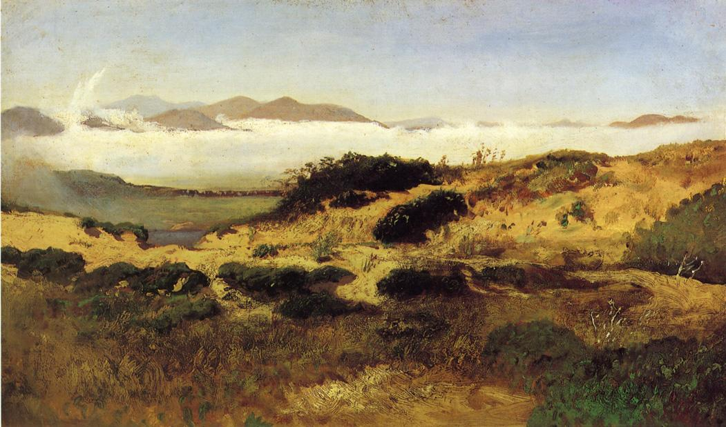 Sand Дюны and Fog , San Francisco, холст, масло по William Keith (1838-1911, Scotland)
