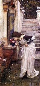 John William Waterhouse - Святыня