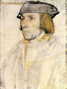Hans Holbein The Younger - Сэр Томас элиот