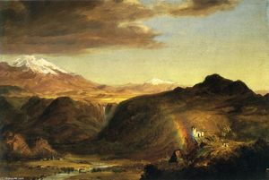 Frederic Edwin Church - Юг Американский ландшафт