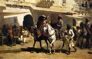 Edwin Lord Weeks - Старт для охота на Gwalior