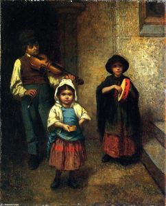 Jonathan Eastman Johnson - УЛИЦА музыкантов