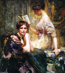 Colin Campbell Cooper - Две женщины