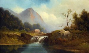 Robert Scott Duncanson - Wilderness Идиллия