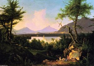Thomas Cole - Winnipesaukee