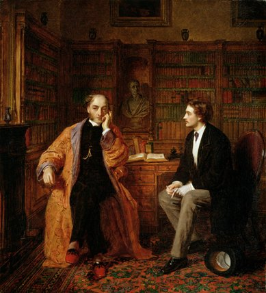 надежды - по William Powell Frith (1819-1909, United Kingdom)
