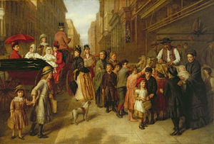 William Powell Frith - бедность а также  богатство