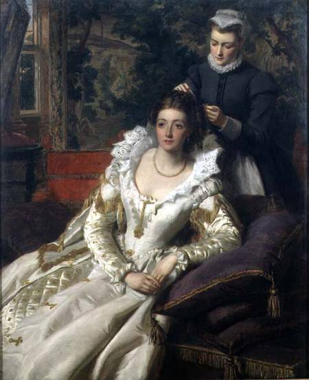 Туалет - по William Powell Frith (1819-1909, United Kingdom)