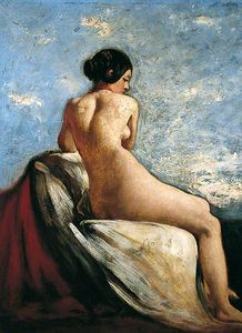 William Etty -   Купальщик  -