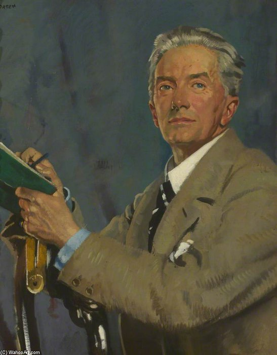 Павел Уотерхаус  по William Newenham Montague Orpen (1878-1931, Ireland)