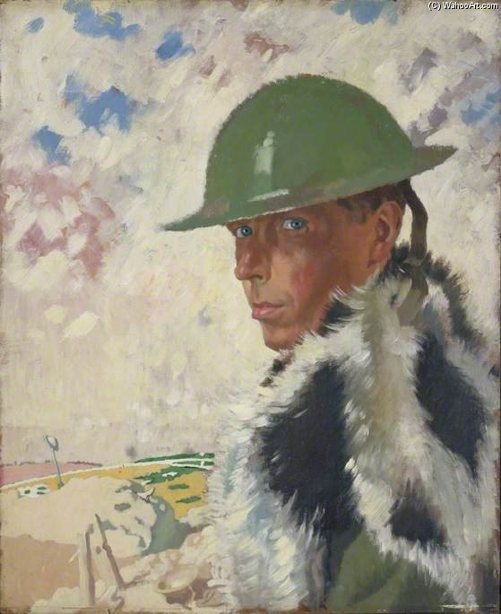 Автопортрет по William Newenham Montague Orpen (1878-1931, Ireland)