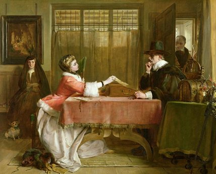 по John Callcott Horsley (1817-1903, United Kingdom) | Картина Копия | WahooArt.com