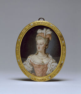 Anne Vallayer Coster - Королева Marie-antoinette