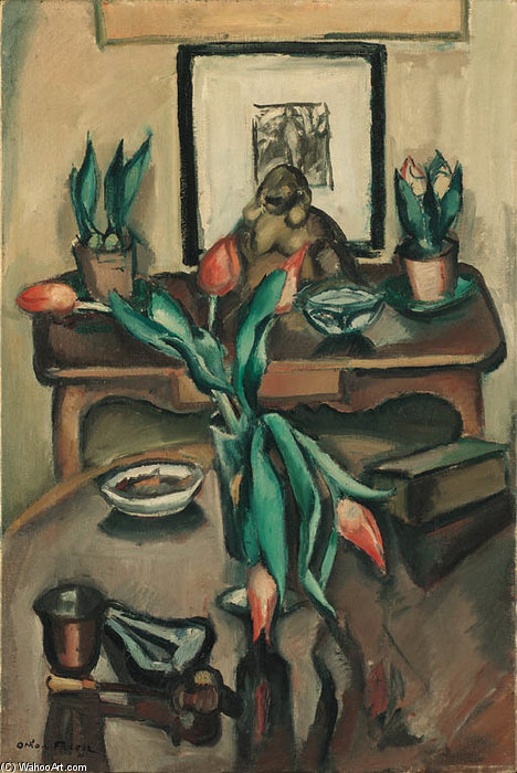 Мертвая природа по Emile Othon Friesz (1879-1949, France)