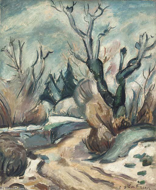 Юра по Emile Othon Friesz (1879-1949, France) | Репродукции Музея | WahooArt.com