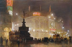 George Hyde Pownall - Piccadilly Цырк -