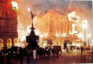 George Hyde Pownall - Piccadilly Цырк