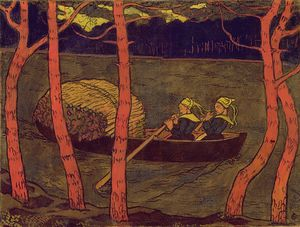 Georges Lacombe - Boatwomen В Бретани