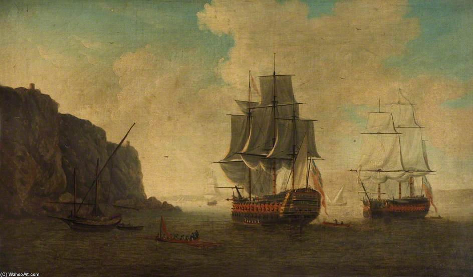 ТМ Barfleur ' по John Thomas Serres (1759-1825, United Kingdom)