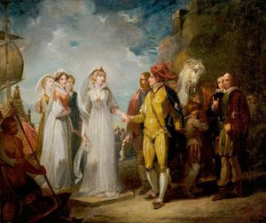 Thomas Stothard - 'love's Labour's Lost'
