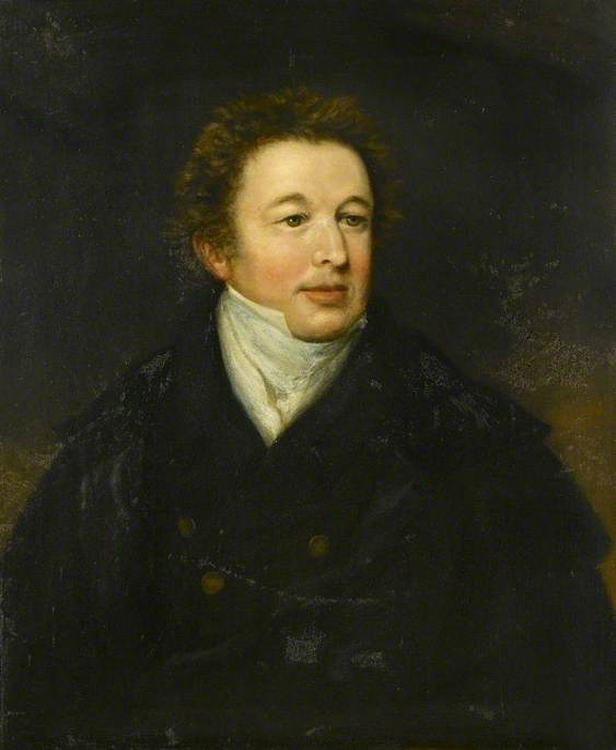 Портрет джентльмена по William Owen (1769-1825, United Kingdom)