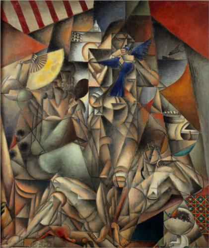 по Jean Dominique Antony Metzinger (1883-1956, France)