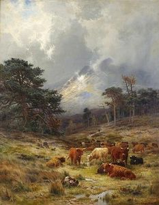 Louis Bosworth Hurt - braes на orchy , Argylshire